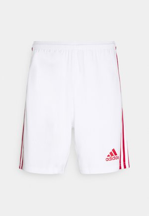 SQUADRA 21 - Sports shorts - white/red