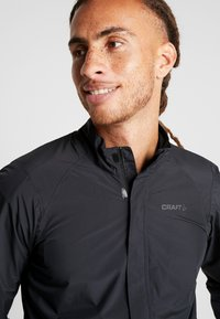 Craft - ADOPT RAIN JACKET - Regnjakke - black - 3