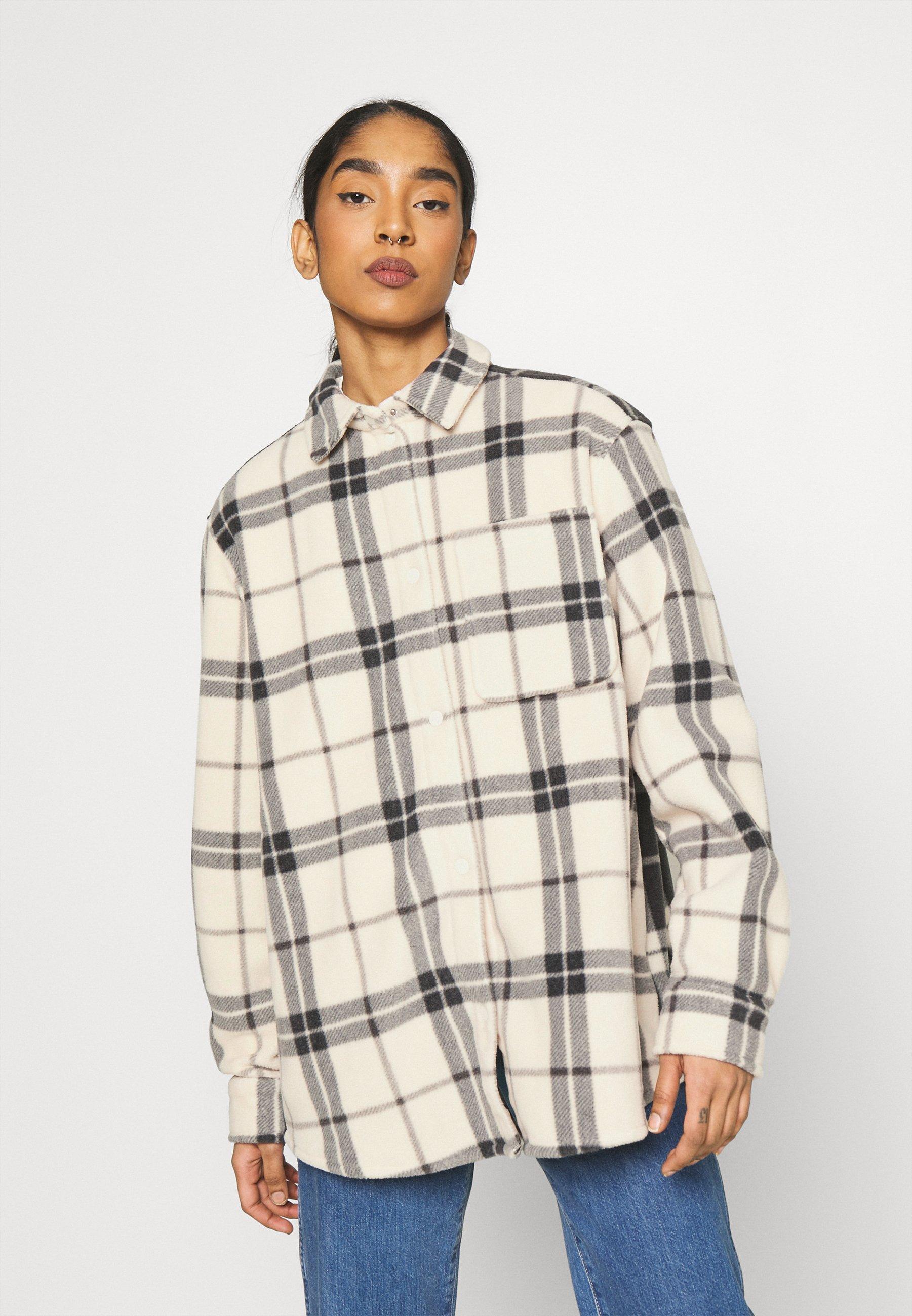 Women BESS - Fleece jacket - black/white