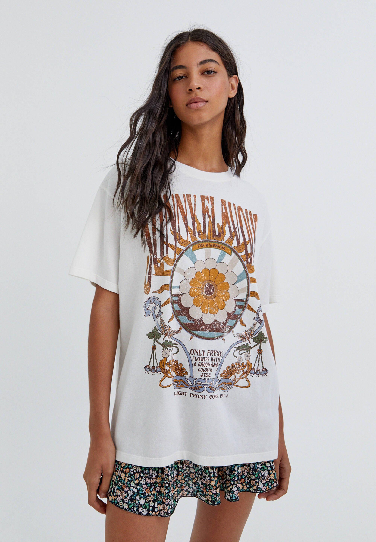 Damen MIT SONNE IM RETROLOOK - T-Shirt print