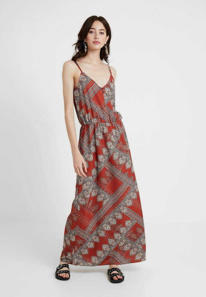 ONLY Tall - ONLDIANA STRAP DRESS - Maxi dress - arabian spice