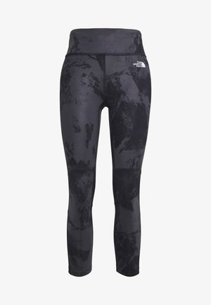 WOMENS VARUNA CROP - Tights - asphlt grey