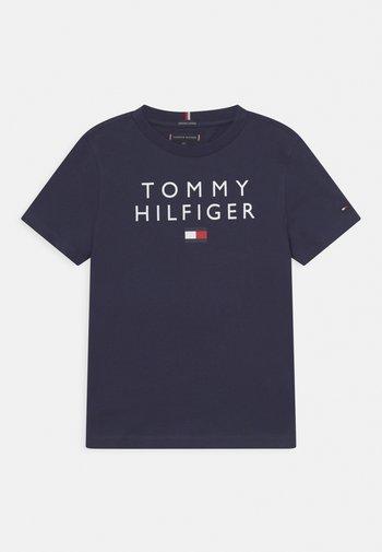 LOGO TEE - T-shirts med print - twilight navy