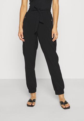 DANTA CUFF PANTS  - Pantaloni - black