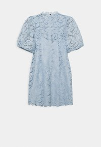 Forever New - PUFF SLEEVE MINI DRESS 2-IN-1 - Cocktail dress / Party dress - blue - 1