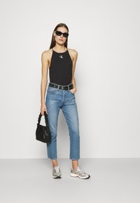 Calvin Klein Jeans - MICRO ON CAMISOLE - Top - black - 1