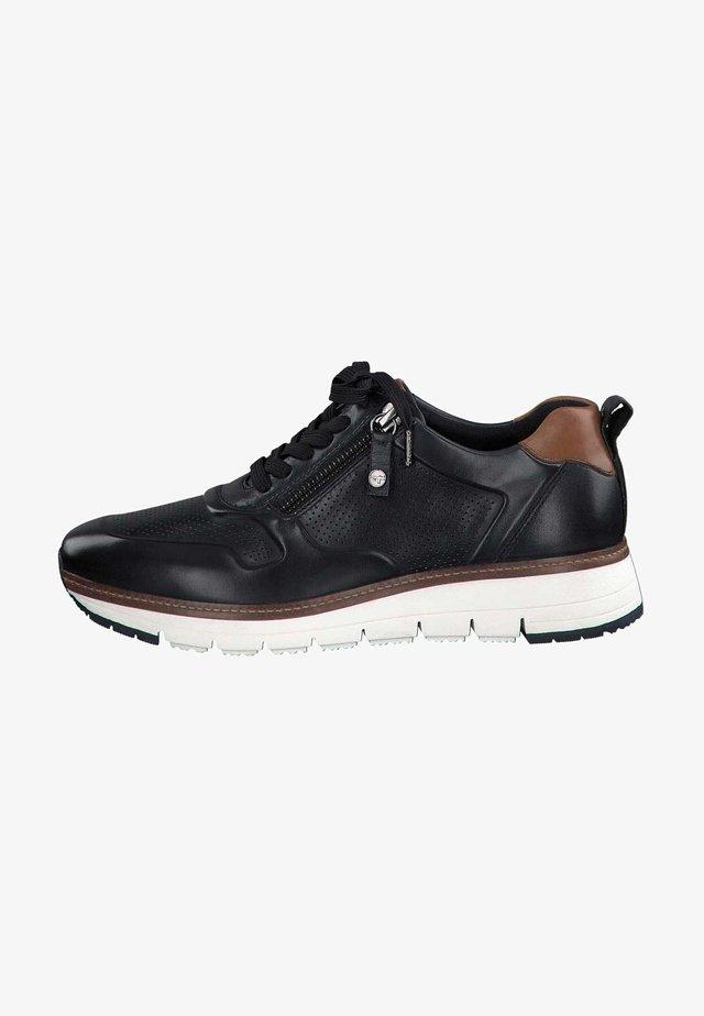 Sneakers laag - navy/cognac 807