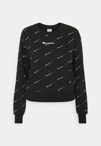 Champion - CREWNECK LEGACY - Sweatshirt - black - 3