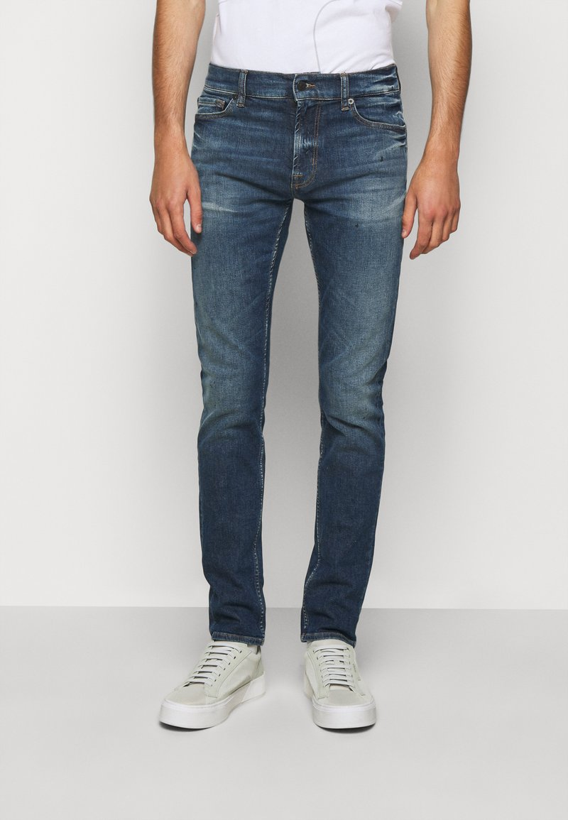 7 for all mankind - PRODIGIOUS - Skinny džíny - dark blue