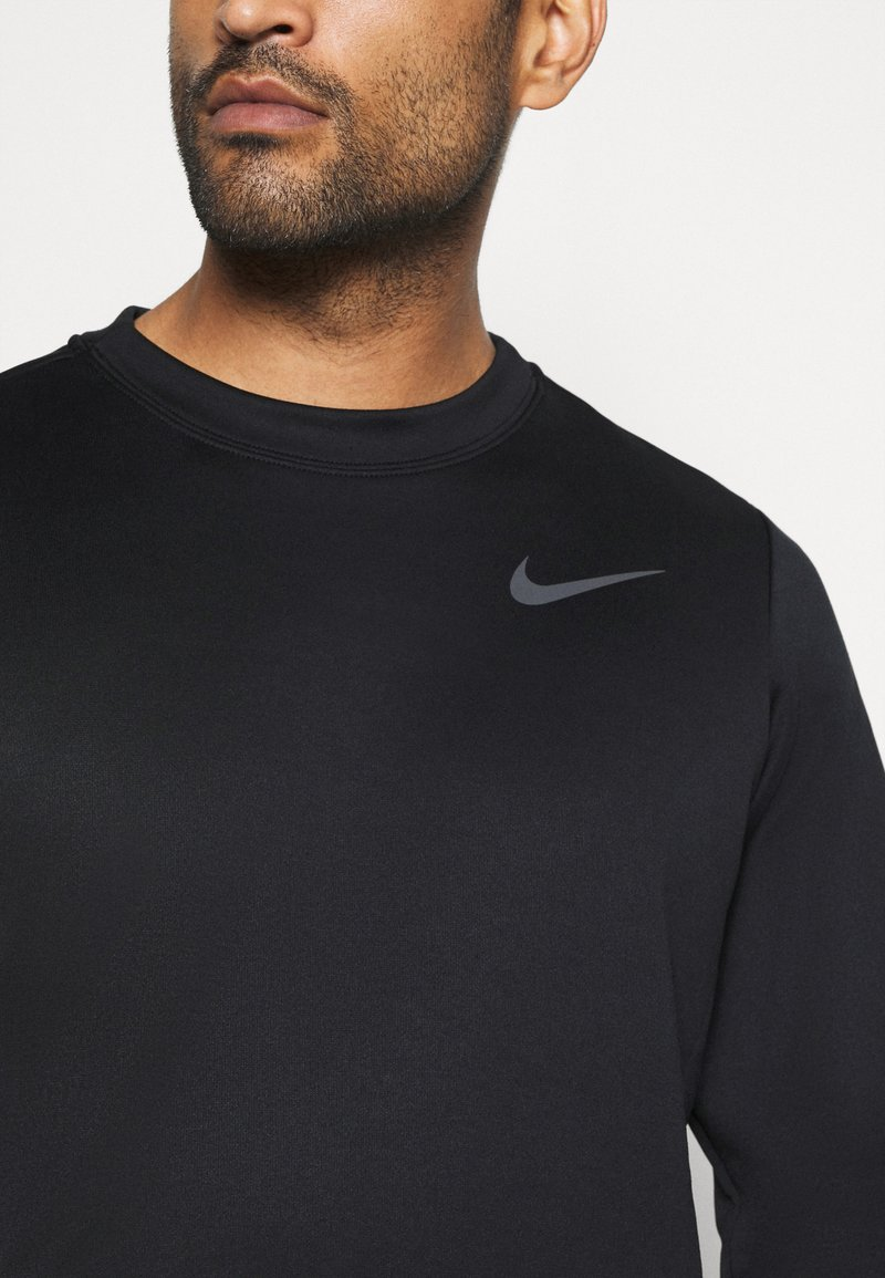 Nike Performance - CREW STANDARD FIT - Felpa - black