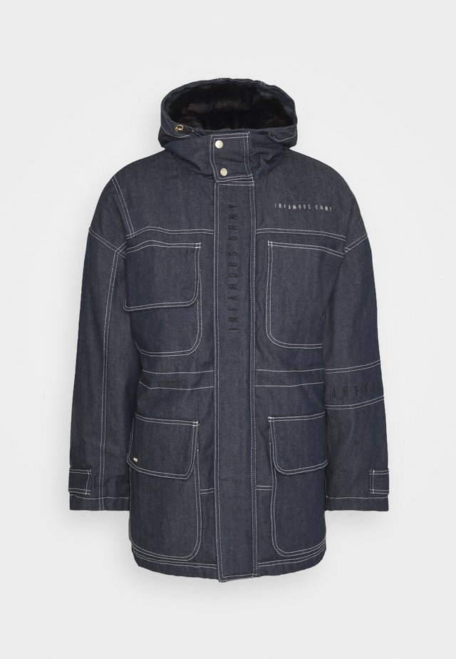 NITE MARAUDER - Winter coat - indigo blue
