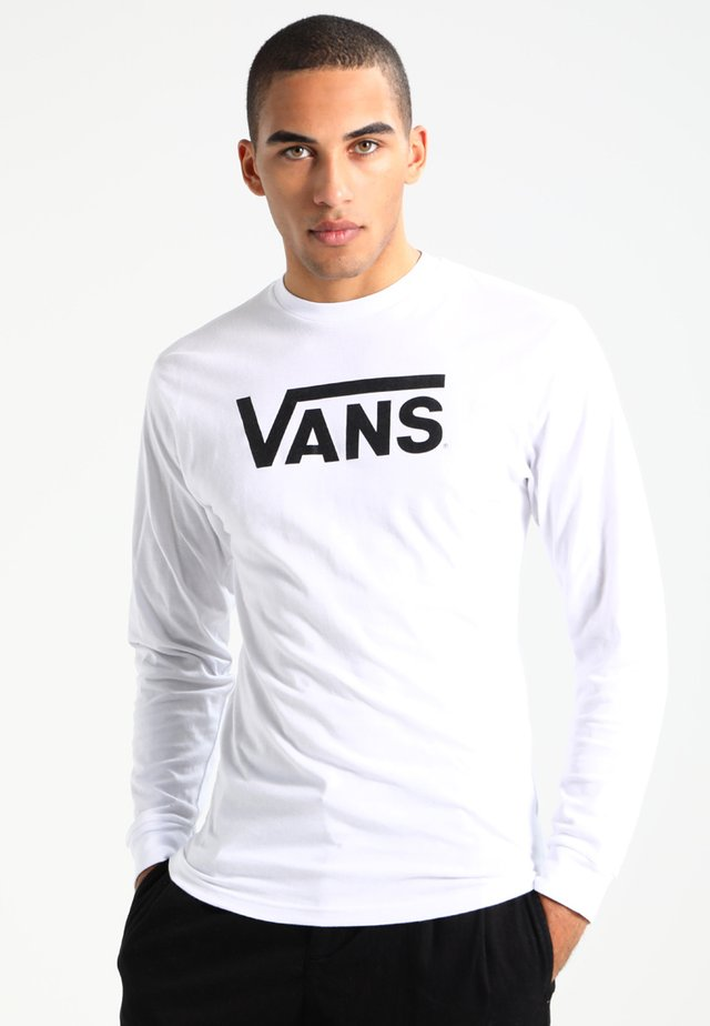 MN VANS CLASSIC LS - Long sleeved top - white/black