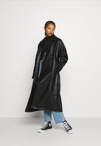 Monki - KYLIE COAT - Kappa / rock - black - 1