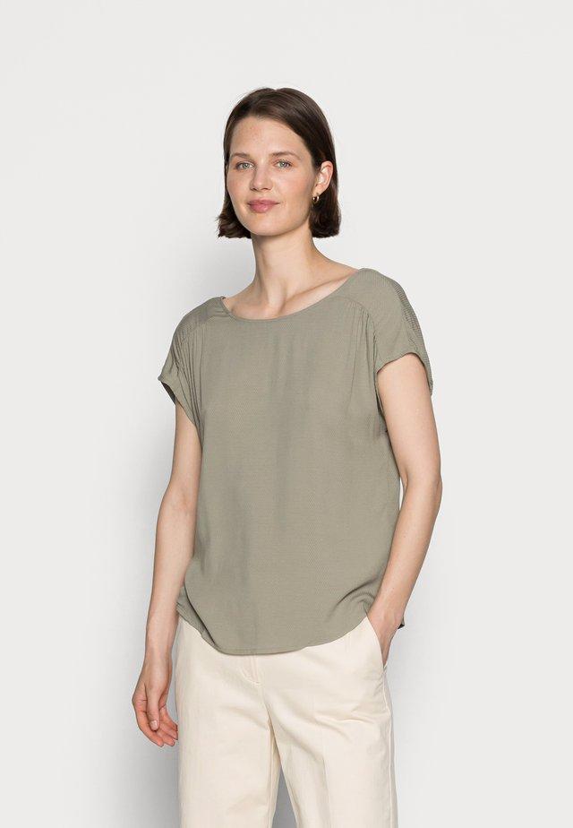 T-shirt - bas - summer khaki