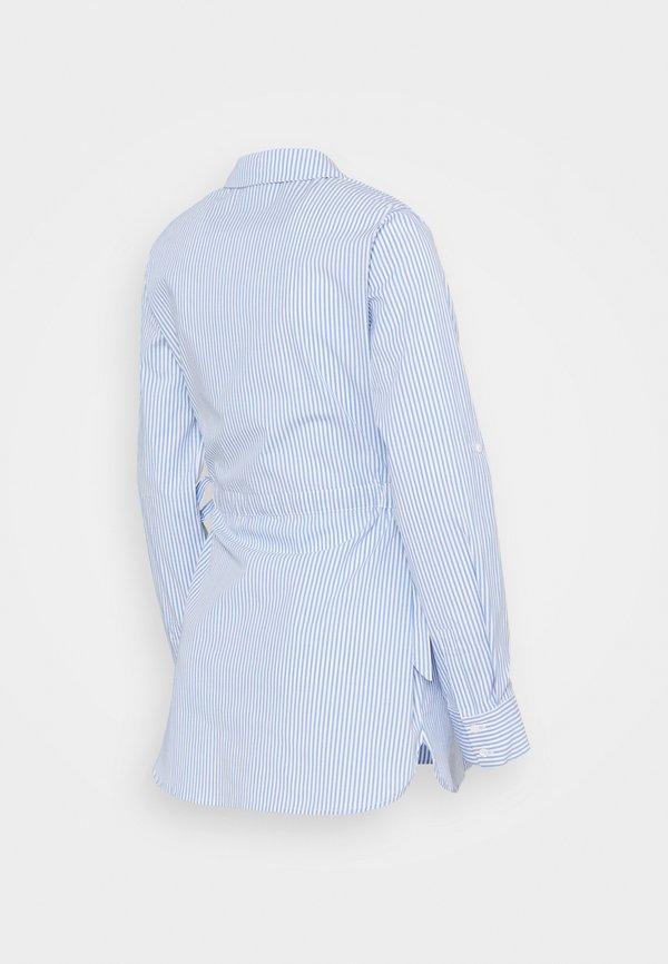 Seraphine HERMIA - Koszula - blue/niebieski SYVX