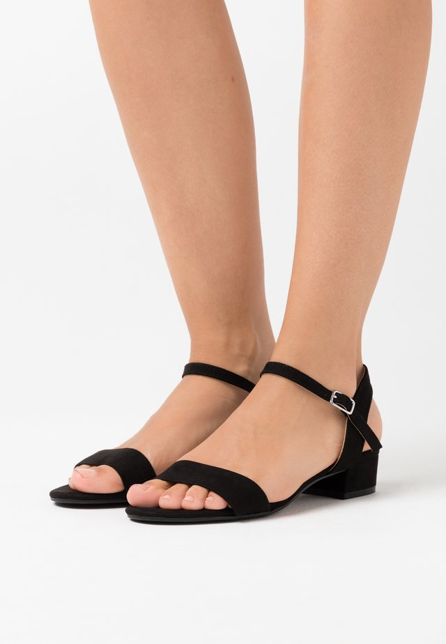 WIDE FIT SPRIGHTLY  - Sandals - black