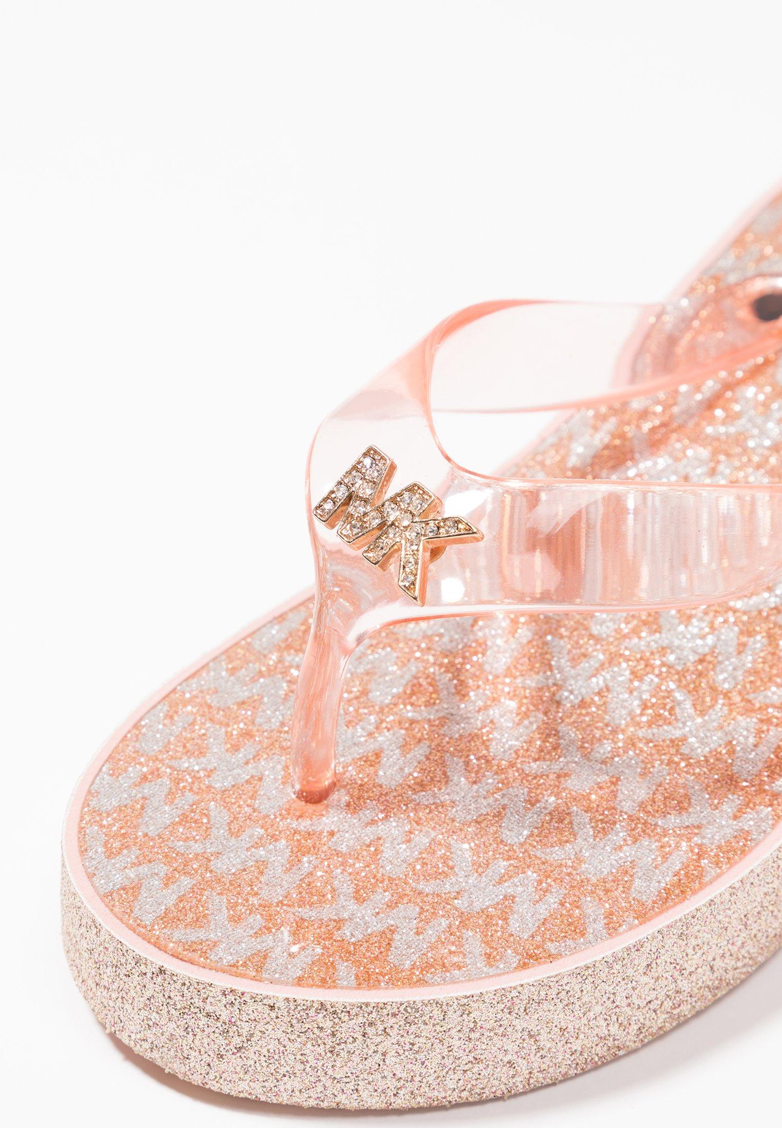 Limitado nuevo MICHAEL Michael Kors ZIA GAGE KILEY - Sandalias de dedo - rose gold | Zapatos para niños 2020 2Bg3a