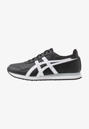 TIGER RUNNER - Sneakers laag - black/white