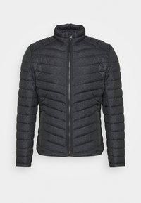 Winter jacket - grey melange design