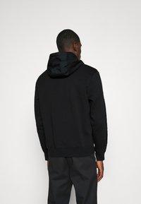 Nike Sportswear - AIR HOODIE - Felpa con cappuccio - black/white - 2