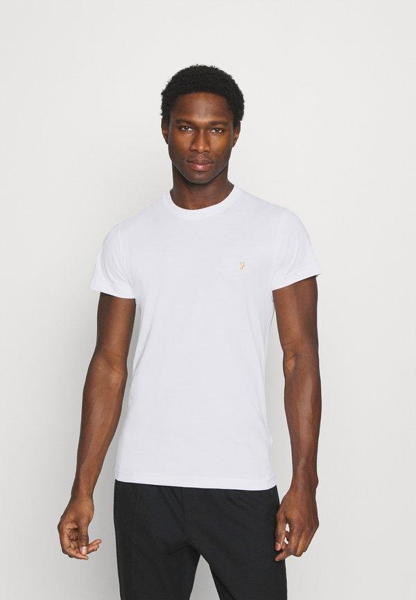 Farah FARRIS 2 PACK - T-shirt basic - white/black/biały Odzież Męska QOBN