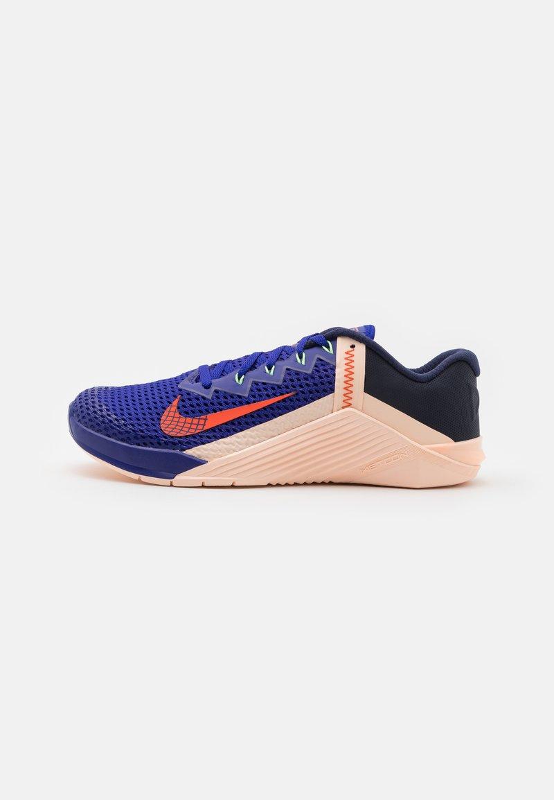 Nike Performance - METCON 6 - Gym- & träningskor - concord/team orange/crimson tint/lime glow/blackened blue/crimson bliss