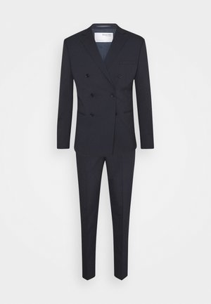 SLHSLIM MAZELOGAN SUIT - Completo - navy