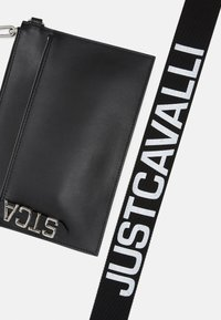 Just Cavalli - BAND WITH A CONTRAST LOGO - Bum bag - black - 7