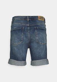 Denim Project - LIGHT DESTROY - Denim shorts - texas blue - 6