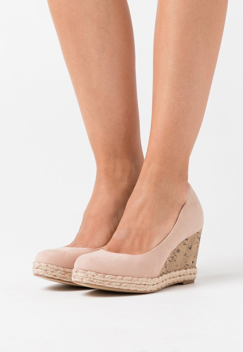 New Look - OYSTER - Plateaupumps - oatmeal