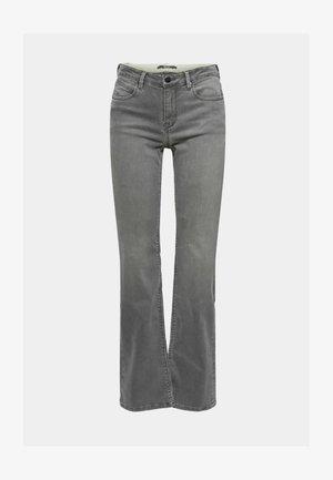 Bootcut jeans - grey medium wash