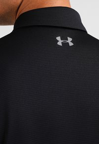 Under Armour - TECH  - Sports shirt - black/graphite - 4