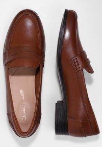 Clarks - HAMBLE  - Slip-ons - light brown - 2
