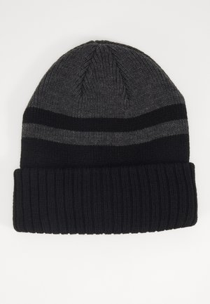 Beanie - black/dark grey