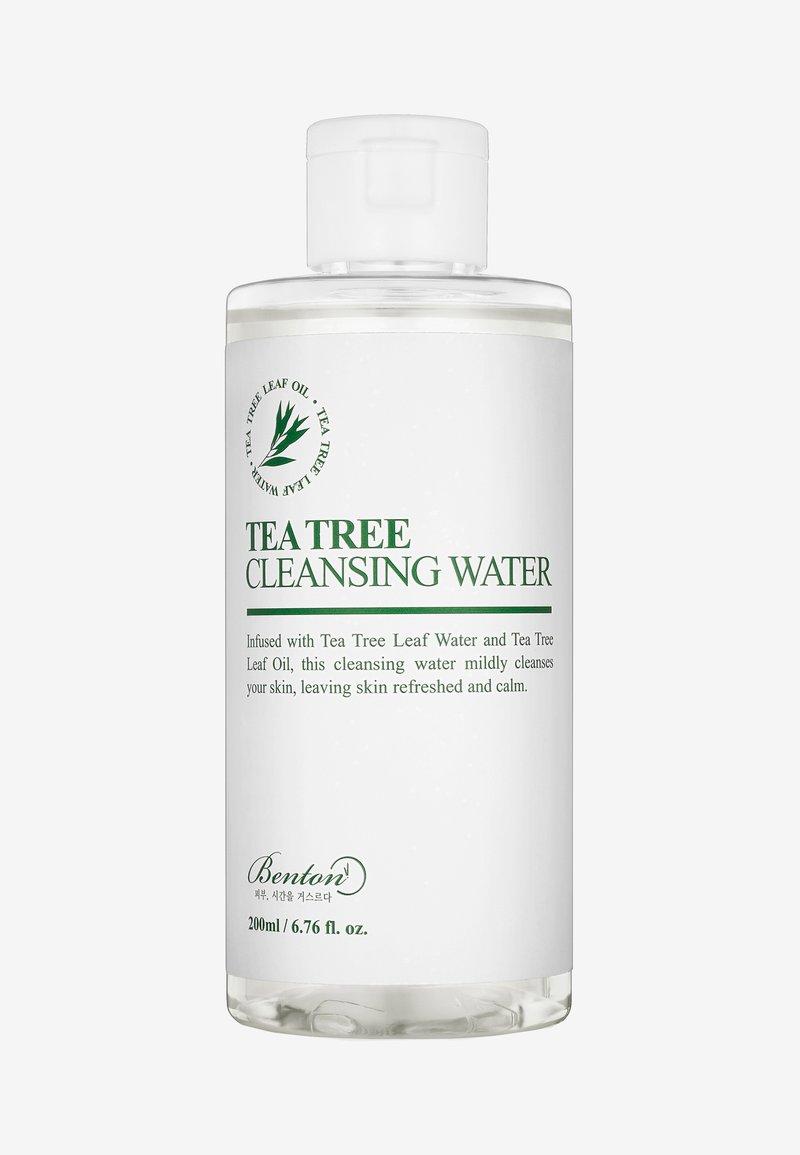 Benton - TEA TREE CLEANSING WATER 200ML - Ansiktsrengöring - -