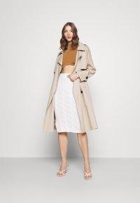 Fashion Union - ANTOINETTE - Top sdlouhým rukávem - pecan - 1