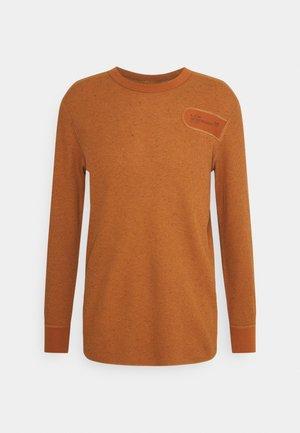 RAW CONSTRUCT - Pitkähihainen paita - amber