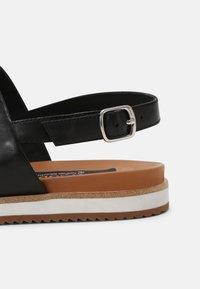 Everybody - Sandals - spoletto black - 5
