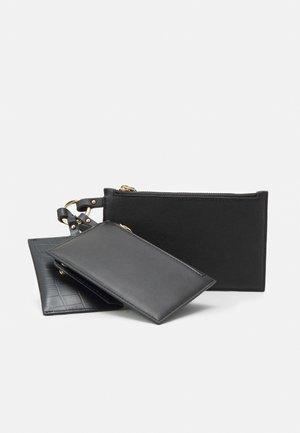3 POUCH SET - Wallet - black