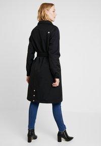 Danefæ København - BORNHOLM RAINCOAT - Waterproof jacket - black - 3