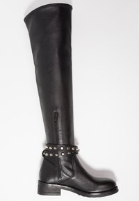 WAY OUT LONDON - Over-the-knee boots - rock nero - 3