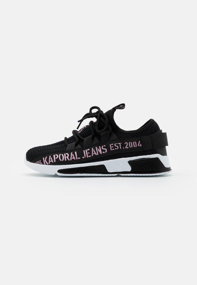 DOFINO - Sneakers laag - noir/rose