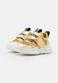 MOSCHINO - Trainers - gold - 1