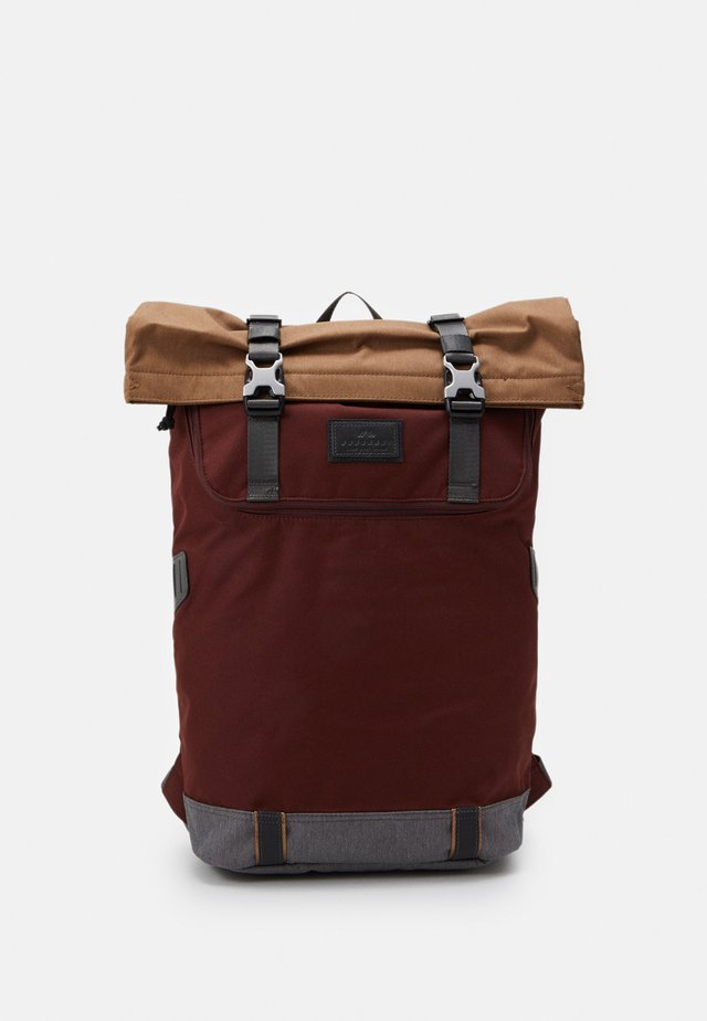 CHRISTOPHERSPACE COLLECTION UNISEX - Rucksack - brown/charcoal