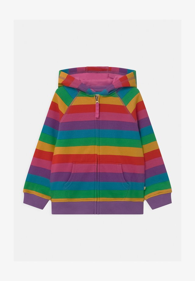 RAINBOW STRIPE DOROTHY HOODY - Hoodie met rits - multi-coloured