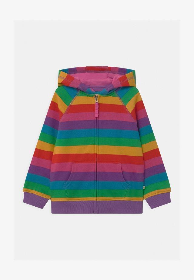 RAINBOW STRIPE DOROTHY HOODY - veste en sweat zippée - multi-coloured