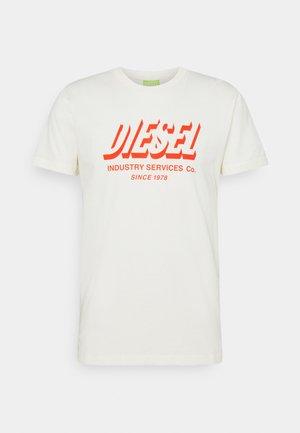 DIEGOS UNISEX - Print T-shirt - off white