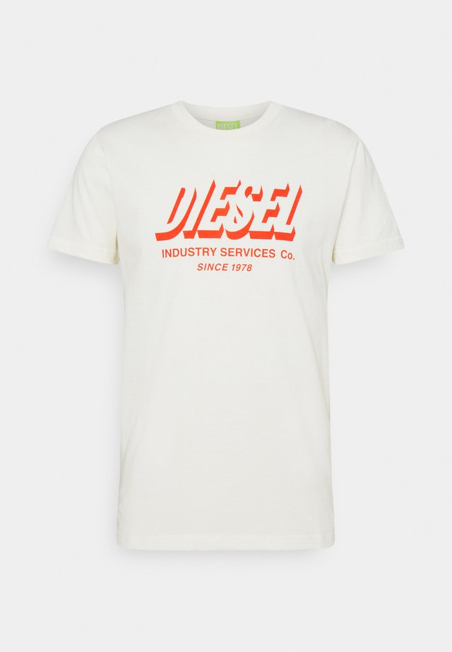 DIEGOS UNISEX - T-shirt print - off white