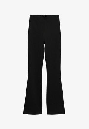 PUNTAF-N - Spodnie materiałowe - schwarz