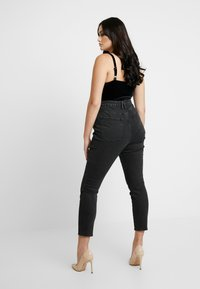 Good American - GOOD CURVE FRONT YOKE - Jeans Skinny - black - 6